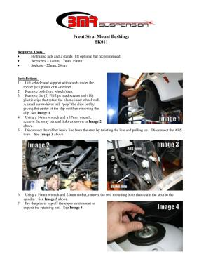 BMR Installation Instructions for BK011