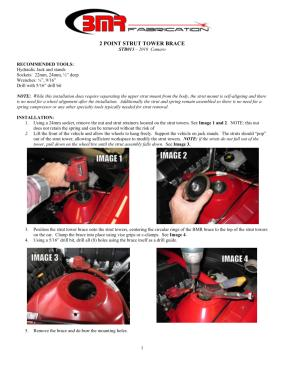 BMR Installation Instructions for STB013