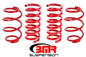 High Resolution Image - SP763 BMR Suspension Power Adders Street Performance Lowering Springs For 2015-2017 S550 Mustang  - BMR Suspension
