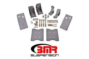 High Resolution Image - TBR001 Upper And Lower Torque Box Reinforcement Braces For 1979-2004 Ford Mustang TBR001 - $119.95 - BMR Suspension