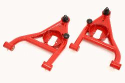 AA009 - A-arms, Lower, DOM, Non-adjustable, Polyurethane Bushings, Rear Bump Stops