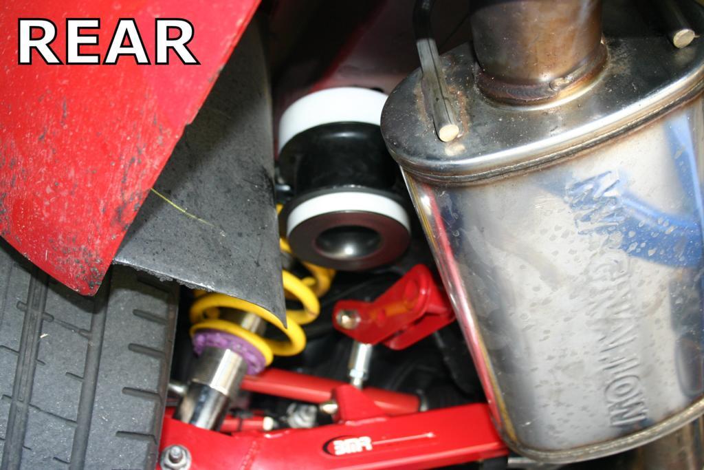 Bmr Suspension Bk027 Bushing Kit Rear Cradle Delrin