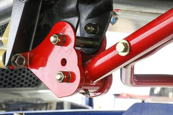 CAB400 - Control Arm Relocation Brackets, Bolt-on