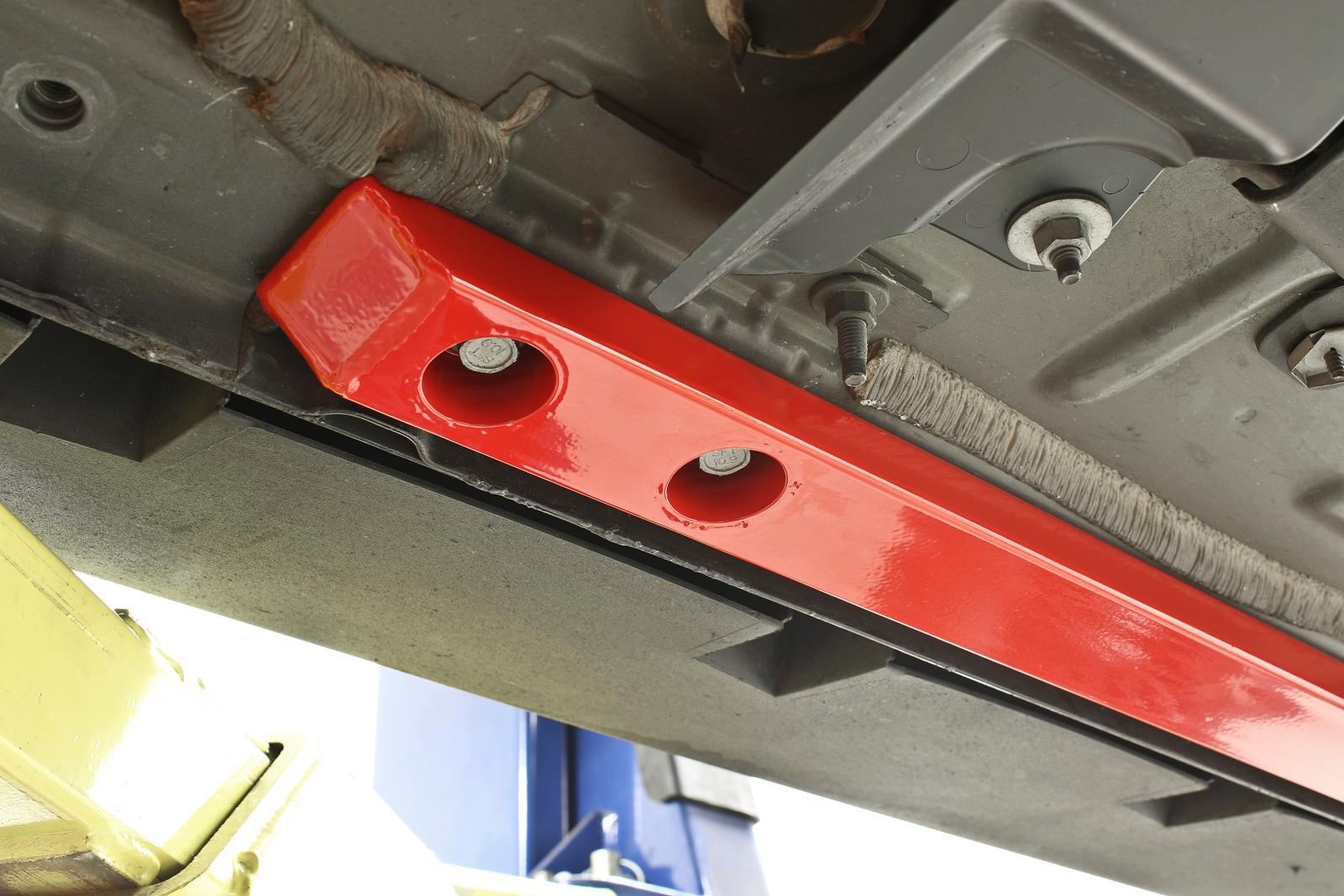 BMR Suspension CJR002 - Chassis Jacking Rail, Super Low ...