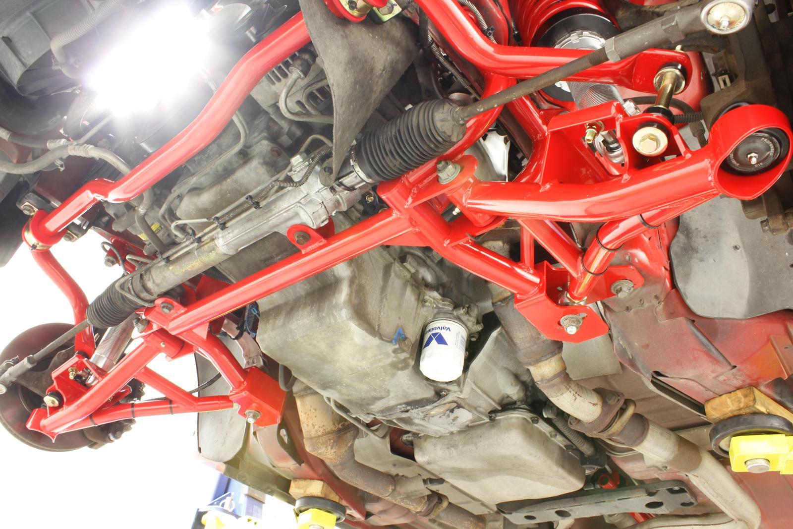 Bmr Suspension Km013 K Member Turbo Ls1 Motor Mounts