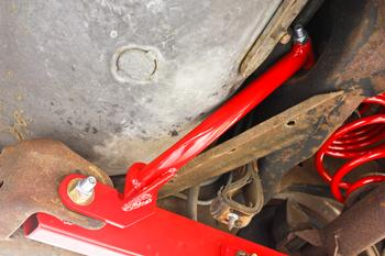RB003 - Control Arm Reinforcement Braces