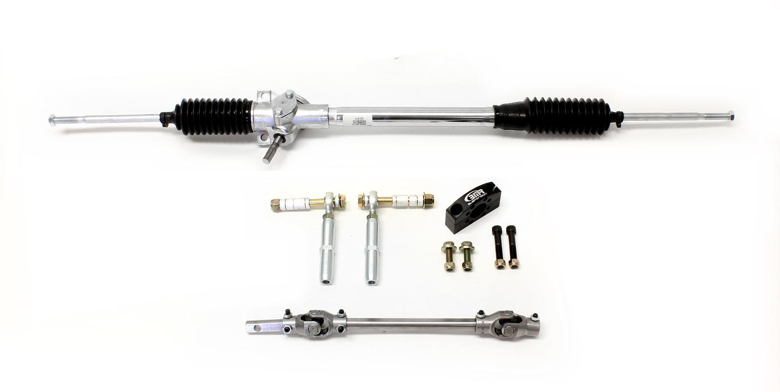 bmr suspension rk001 manual steering conversion kit use with bmr rh bmrsuspension com Custom Steering Rack Power Steering Rack Replacement