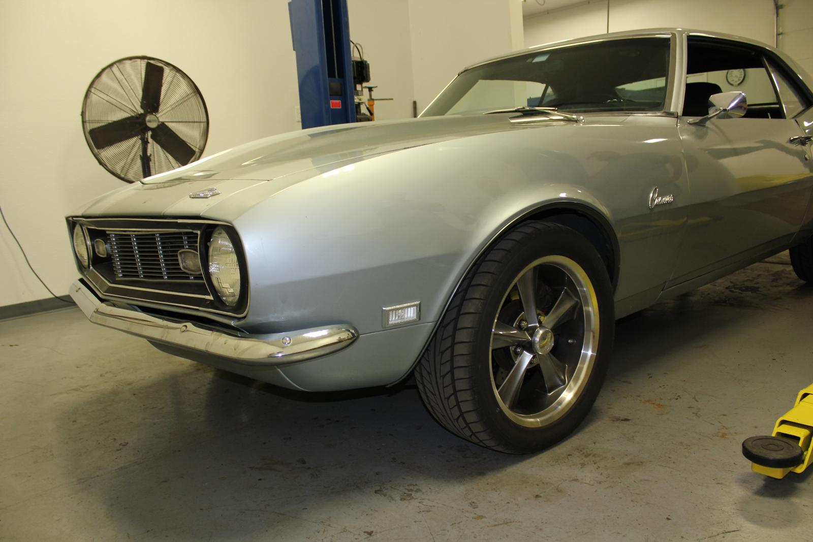 Lowered Camaro 1969 BMR Suspension ...