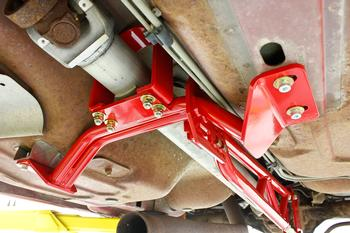 TA012 - Torque Arm, Tunnel Mount, LT Headers, W/DSL