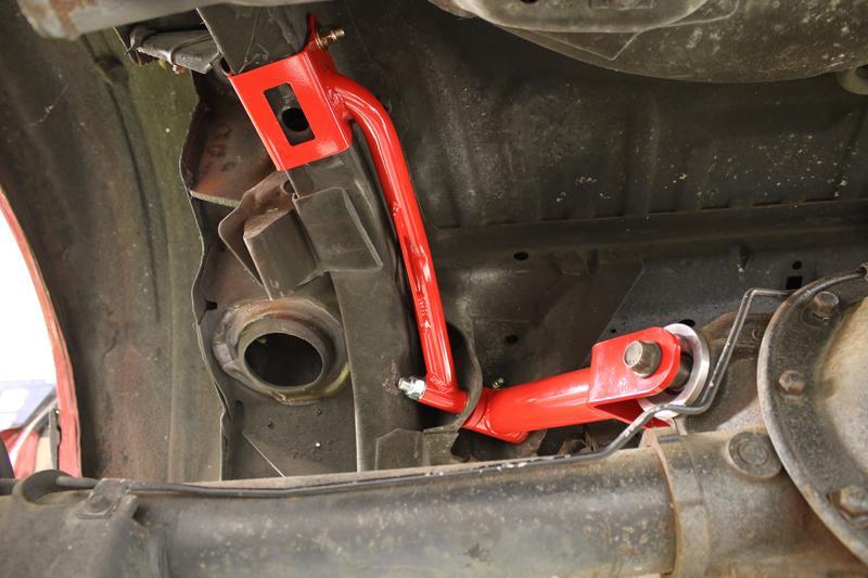 BMR Suspension TBR004 - Torque Box Reinforcement Plate Kit ...