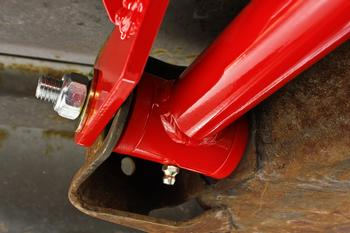 TCA002 - Lower Control Arms, DOM, On-Car Adjustable, Polyurethane Bushings