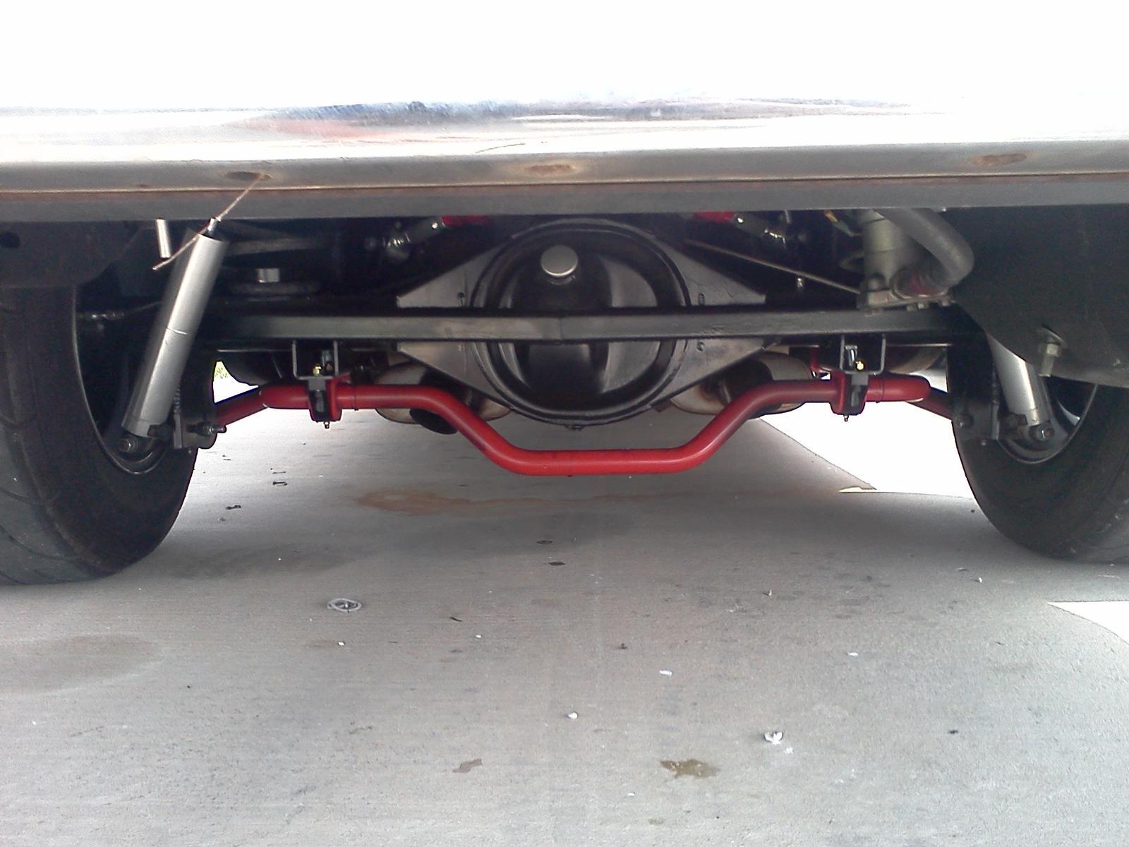 Xtreme Anti-roll Bar Kit, Rear, Solid 1 375